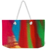 Travel Shopping Colorful Scarves Abstract Series India Rajasthan 1b Weekender Tote Bag