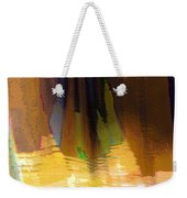 Travel Shopping Colorful Scarves Abstract Series India Rajasthan 1j Weekender Tote Bag