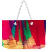 Travel Shopping Colorful Scarves Abstract Series Square India Rajasthan 1h Weekender Tote Bag