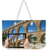 Travel To Pont Du Gard  Weekender Tote Bag