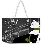 Travel With Your Cat Weekender Tote Bag