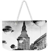 Travelers Insurance Tower Weekender Tote Bag
