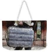 Traveling Man Weekender Tote Bag