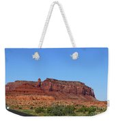 Traveling On Highway 163 Weekender Tote Bag