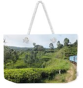 Travelling By Train From Colombo To Badulla Weekender Tote Bag