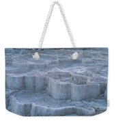 Mammoth Hot Springs Travertine Terraces Two Weekender Tote Bag