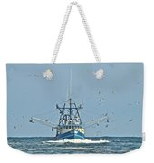 Trawler Homeward Bound Weekender Tote Bag