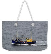 Trawling Off The Dingle Peninsula In Ireland Weekender Tote Bag