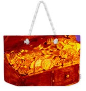Treasure Chest With Gold Coins Weekender Tote Bag