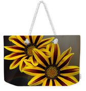 Treasure Flowers With Light Flares Weekender Tote Bag
