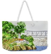 Treasure Island - California Sketchbook Project  Weekender Tote Bag