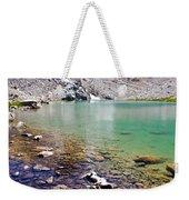 Treasure Lake 3 Rocky Shoreline Weekender Tote Bag