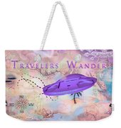 Treasure Map Weekender Tote Bag
