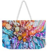 Treasures From Rainbow Reef Weekender Tote Bag
