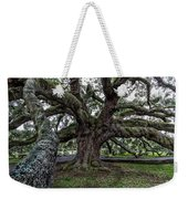 Treaty Oak 12 14 2015 027 Weekender Tote Bag