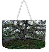 Treaty Oak 12 14 2015 028 Weekender Tote Bag
