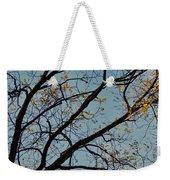 Tree Against The Sky Weekender Tote Bag