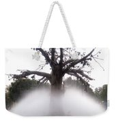 Tree And Fountain Weekender Tote Bag