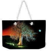 Tree And Moon Weekender Tote Bag