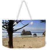 Tree And Ocean Weekender Tote Bag