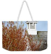 Tree And School House 795 Weekender Tote Bag