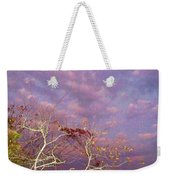 Tree And Sky At Cape May Point State Park  Nj Weekender Tote Bag