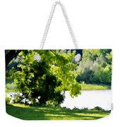 Tree At Riverside Park 3 Weekender Tote Bag