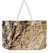 Tree Bark 9 Weekender Tote Bag