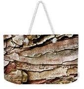 Tree Bark Abstract Weekender Tote Bag