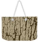 Tree Bark Texture Brown Weekender Tote Bag