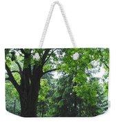 Tree Bench Weekender Tote Bag