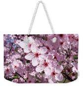 Tree Blossoms Pink Spring Flowering Trees Baslee Troutman Weekender Tote Bag