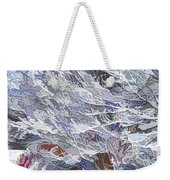 Tree Branches Covered By Snow  Weekender Tote Bag