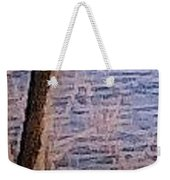 Tree By The Lake Weekender Tote Bag