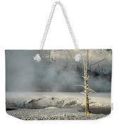 Tree By The Thermal - Yellowstone Weekender Tote Bag