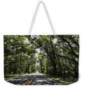 Tree Covered Road Weekender Tote Bag