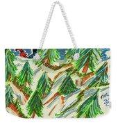 Tree Farm Weekender Tote Bag