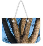 Tree Fork Weekender Tote Bag