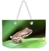 Tree Frog Close-up 01110 Weekender Tote Bag