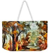 Tree Impression Weekender Tote Bag