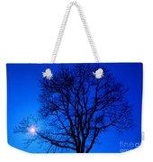 Tree In Blue Sky Weekender Tote Bag