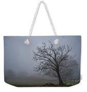 Tree In The Fog Weekender Tote Bag
