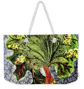 Tree In The Garden On Aluminum Substate Weekender Tote Bag