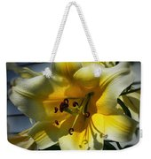 Tree Lily Weekender Tote Bag