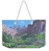 Tree Line Oasis  Weekender Tote Bag