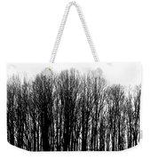Tree Lined Weekender Tote Bag