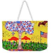 Tree Of Freedom And Glory Weekender Tote Bag