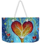 Tree Of Hearts Weekender Tote Bag