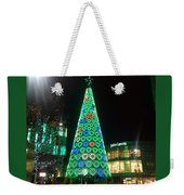Tree Of Hearts In Green Weekender Tote Bag