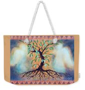 Tree Of Life Weekender Tote Bag by Kathy Braud
